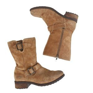 UGG Chaney Moto Boots Sz 6.5